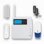 home alarm: 868MHz LCD display home intruder alarm system FS-AM211