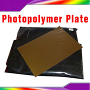 DIY Hot Foil Letterpress Photopolymer Water-Soluble Plate Die