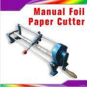 Foil Slitter Cutter Hot Foil Foil Paper PU Vinyl Roll Cutting Machine