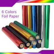 Metallic Hot Foil Stamping Paper Gilding  Business Card