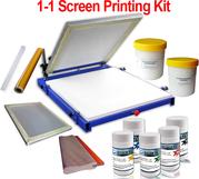 1-1 Color Simple Screen Printing Kit