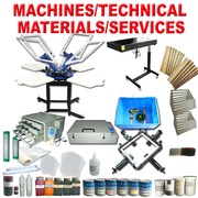 4-4 Color Screen Printing Equipment & Supplies Full Set Kit