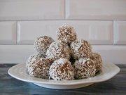 vancouver healthy foods, coconut lemon cashew balls